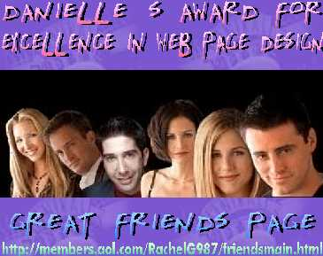 Danielle´s Friends Page Award !!!